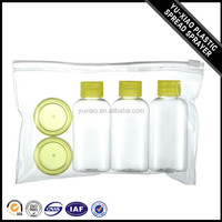 Hot sell delicate multicolor WK-T-10 plastic bottle travel set
