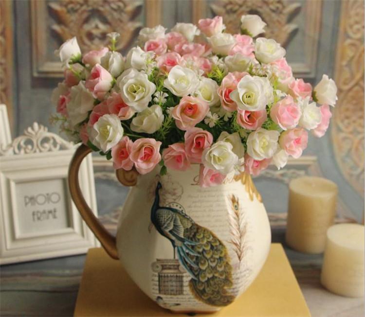 Silk Spring Rose 33cm/12.99