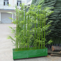 SJ030932 artificial bamboo tree/bamboo pole craft/bamboo pole support tree