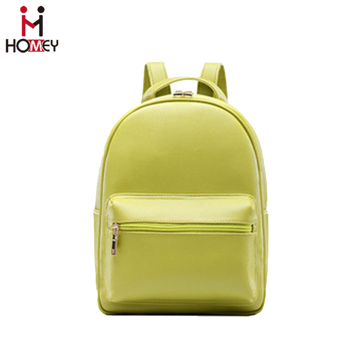Excellent Quality Good Prices Leather Backpack lady vanity bag
