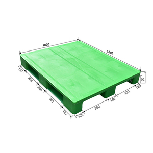 HDPE plastic pallets for medical and hygienic industry