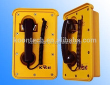 lightening protection telephone terminal box/ water proof telephone for metro and railway KNSP-10