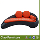 Wicker outdoor furniture oval round beds sun daybed