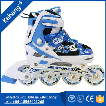 Guangzhou hot sale fashion design agile roller skate boots quad skate wheels