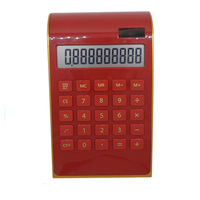 High Quality Novelty Office Table Desktop Dual Power 10 digit Calculator