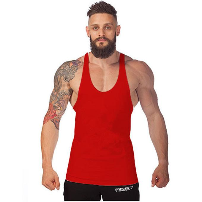 Men Male New Arrival Body Building Training Sport Stylish Fitness Solid Sleeveless Tank Tops Multicolor M/L/XL/XXL