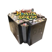New game Ocean king 3 Monster awaken 3D coin operated fish gambling game machine with LG display