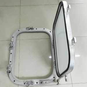 Good sound insulation aluminum bar for boat window and door