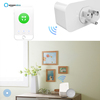 Lingan Hot selling Wifi plug and Smart socket works with Google hom and Echo with CE