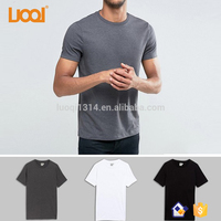 Wholesale Blank Combed Cotton Custom Logo Screen Printing Mens T Shirt
