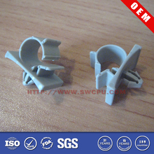 Plastic tube clamp/clip/coupling collet
