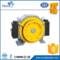 Reliable performance traction machine motor for elevator