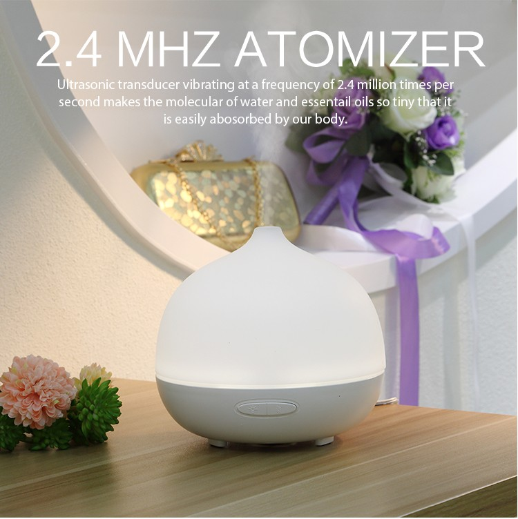 Ellestfun 200ml air humidifier aroma essential oil diffuser with 7 Color Lights, GH2137