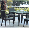 High Quality Outdoor Patio Furniture 3pcs Cast Aluminum Dining Set