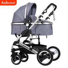 2017 Belecoo manufacture baby prodcuts baby stroller 3 in 1 535-Q3 child pram with EN1888 linen fabric