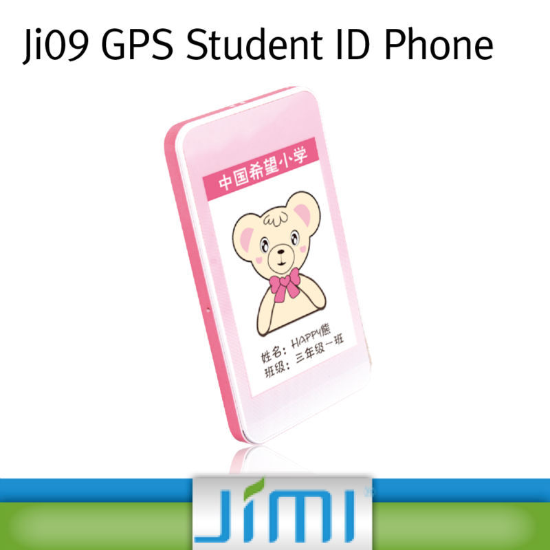 Student ID Card child locator gps with Special numbers for SOS emergency fast-dial and 2.4 GHz RFID for student attendance