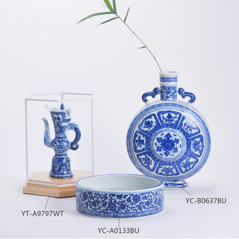 Jarrones de cer mica china antigua decoraci n del hogar for Decoracion hogar jarrones