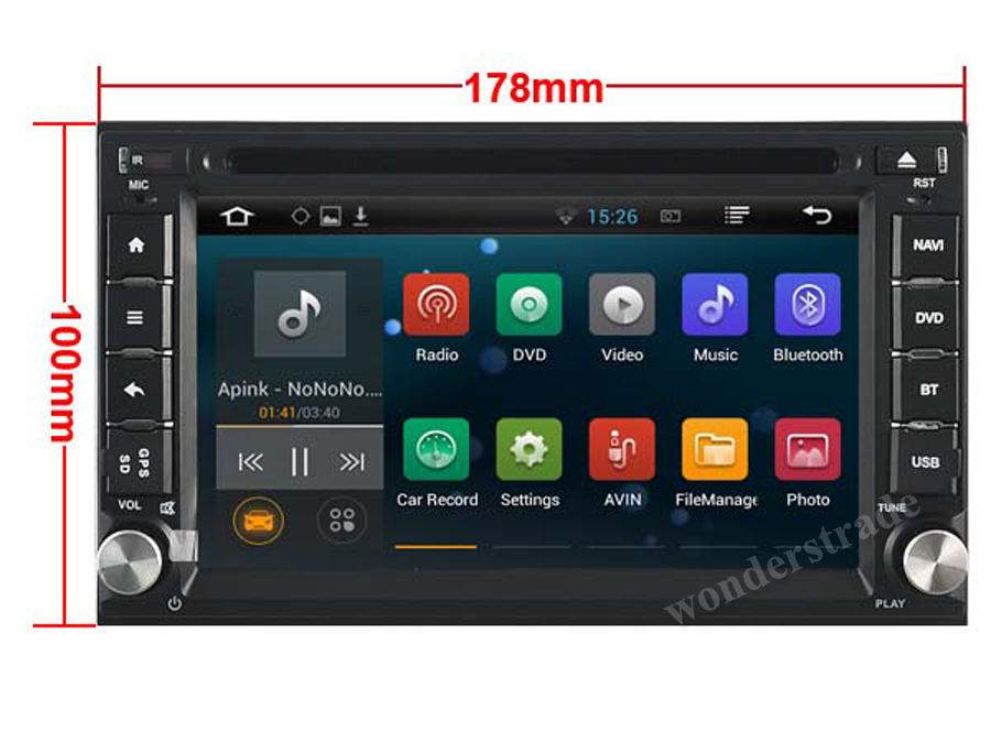 gandalf android 4 4 car dvd player radio stereo gps for nissan qashqai x trail frontier tiida. Black Bedroom Furniture Sets. Home Design Ideas