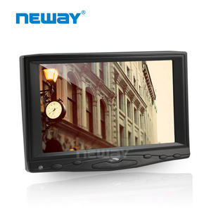 7 inch 450cd/m2 portable touch 4 threads monitor