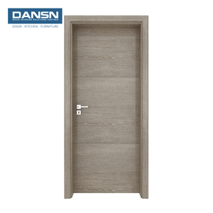 2018 New design Melamine Finish Flush Water Proof Bathroom Wood Doors Toilet Door Designs