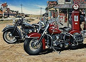 Two for the Road - 1000 Piece Jigsaw Puzzle By Cobble Hill