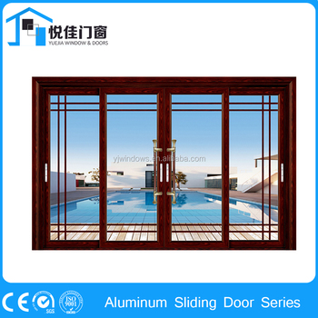 High quality sliding glass door exterior sliding doors for for Exterior sliding glass doors for sale