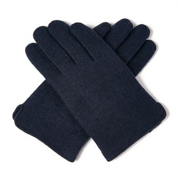 2019 christmas winter wool touch screen black gloves