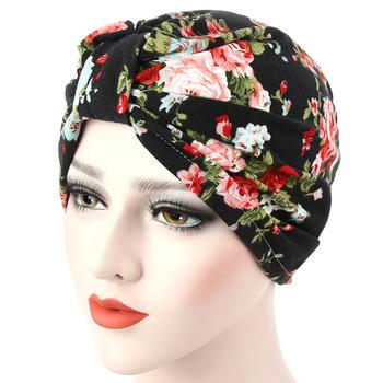 toller Wert am modischsten klassisch Damen Mädchen Floral Indische Turban Hut Plissierte Chemo Krebs Kappe  Schlaf Headwear - Buy Indische Turban Hut,Krebs Cao,Schlaf Headwear Product  on ...