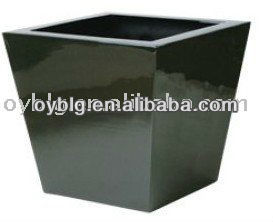 Can flower, flower pot, FRP planter