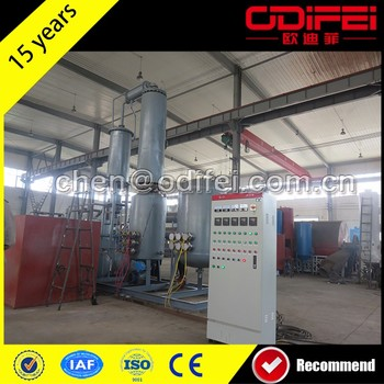 Multifunctional tyre recycling plant cost fuel oil refinery equipment used tyre recycling plant to fuel oil