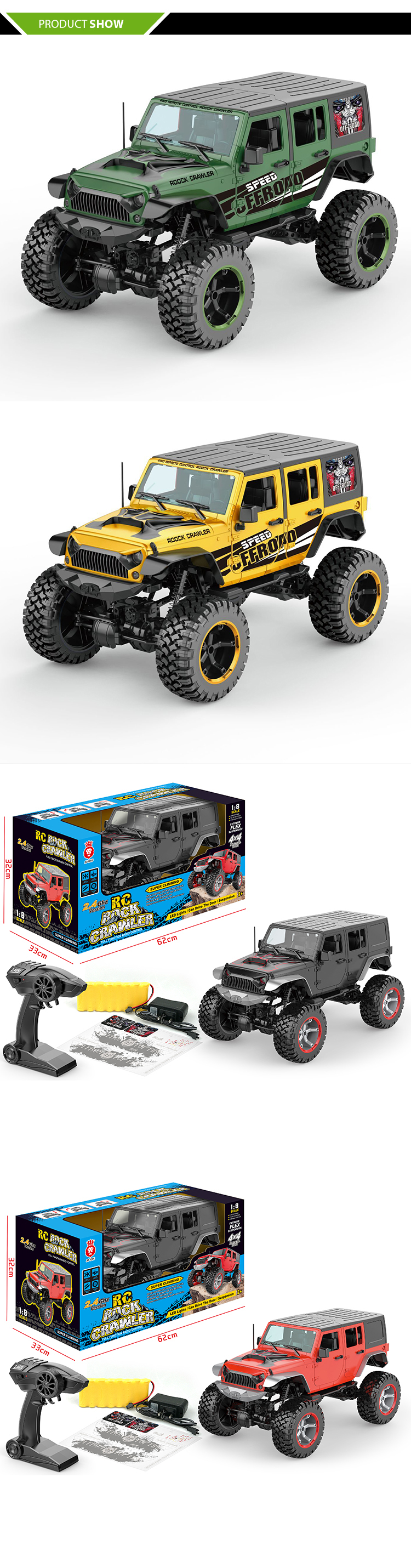 1 8 scale rc truck electric