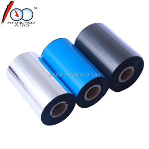 110mm * 300m wax ttr thermal transfer zebra printer ribbon