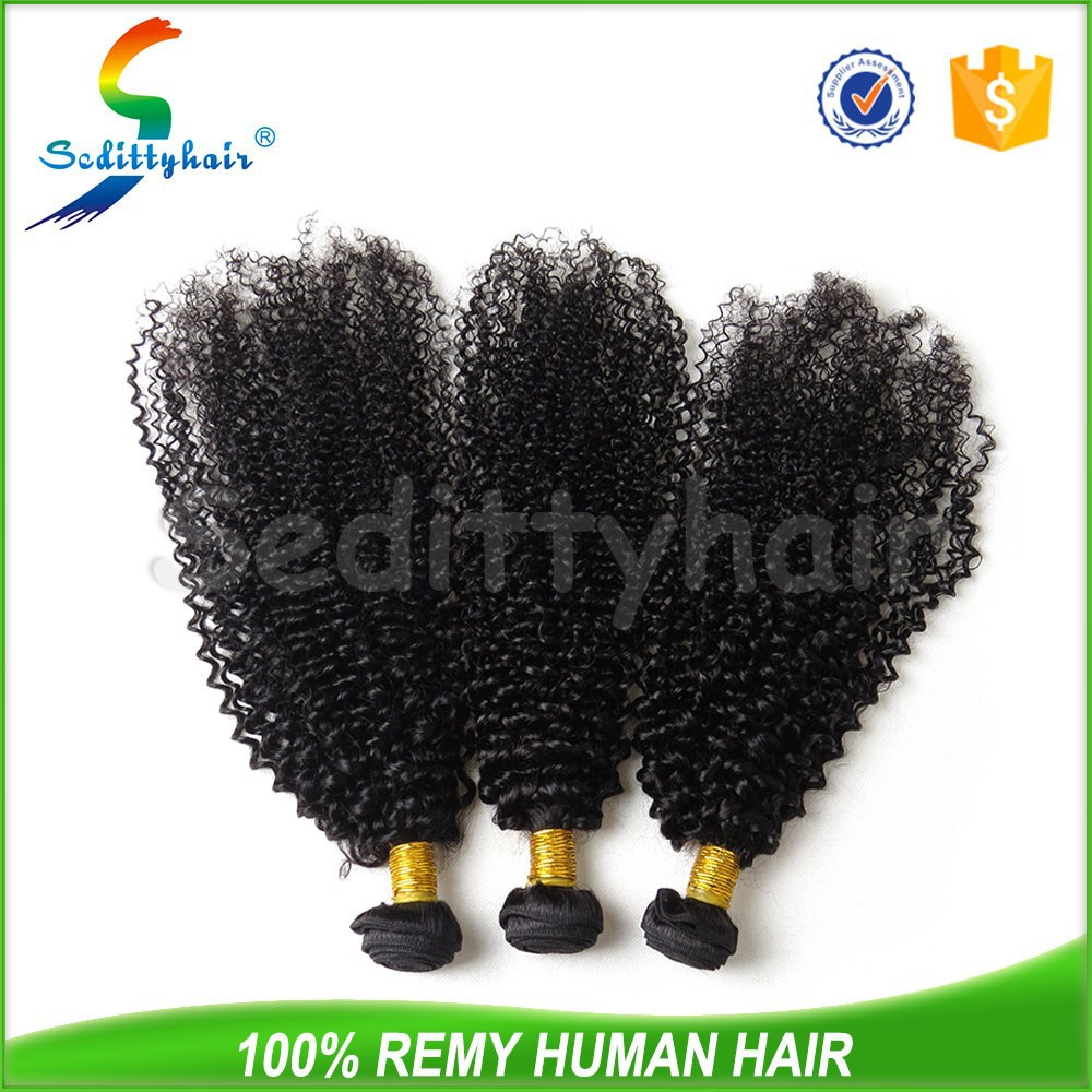 Cheap long curly hair weave, hair extensionJerry curly human hair weave