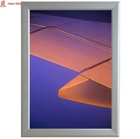 Factory price aluminum snap frame LED photo poster advertise light box wholesale