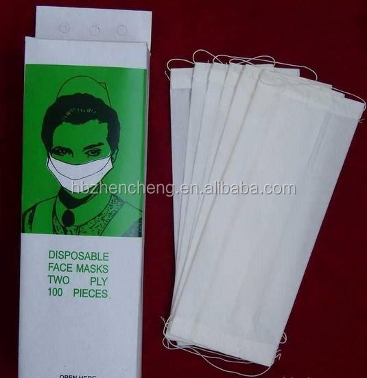 Cheap price ,good quality disposable paper mask