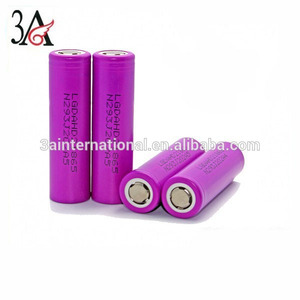 LG 18650 HD2 2000mah 25A 3.7v high drain battery cells li-ion battery cell