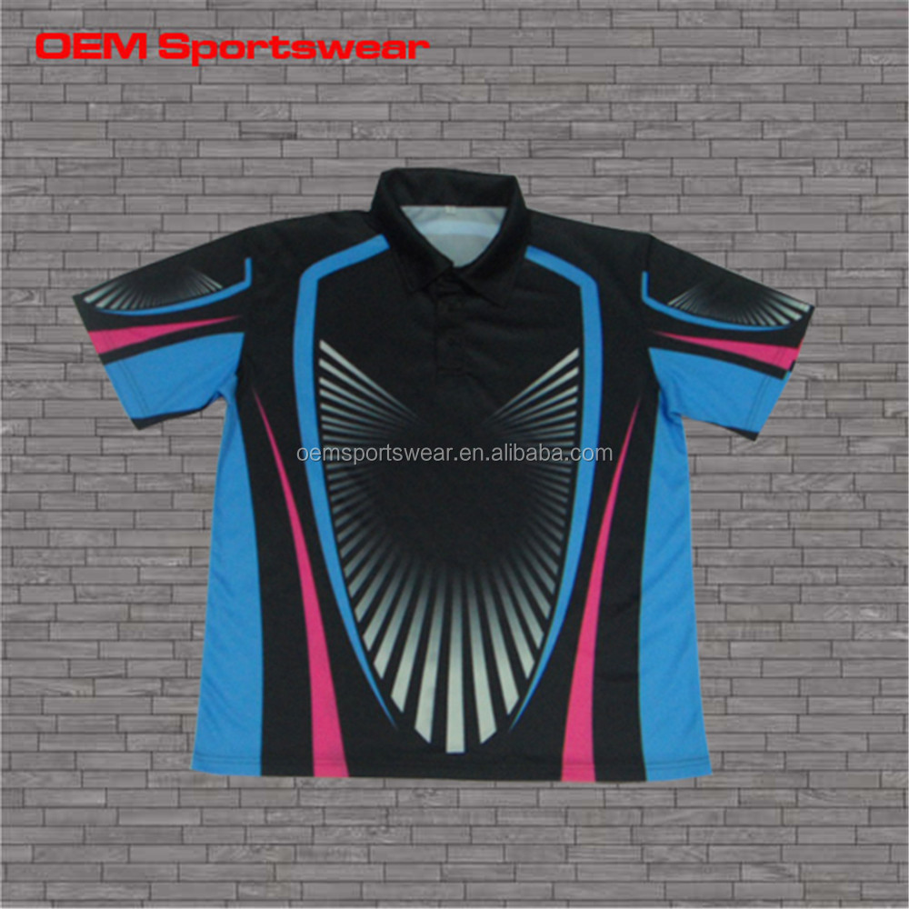 Promotional sports polo tee shirt