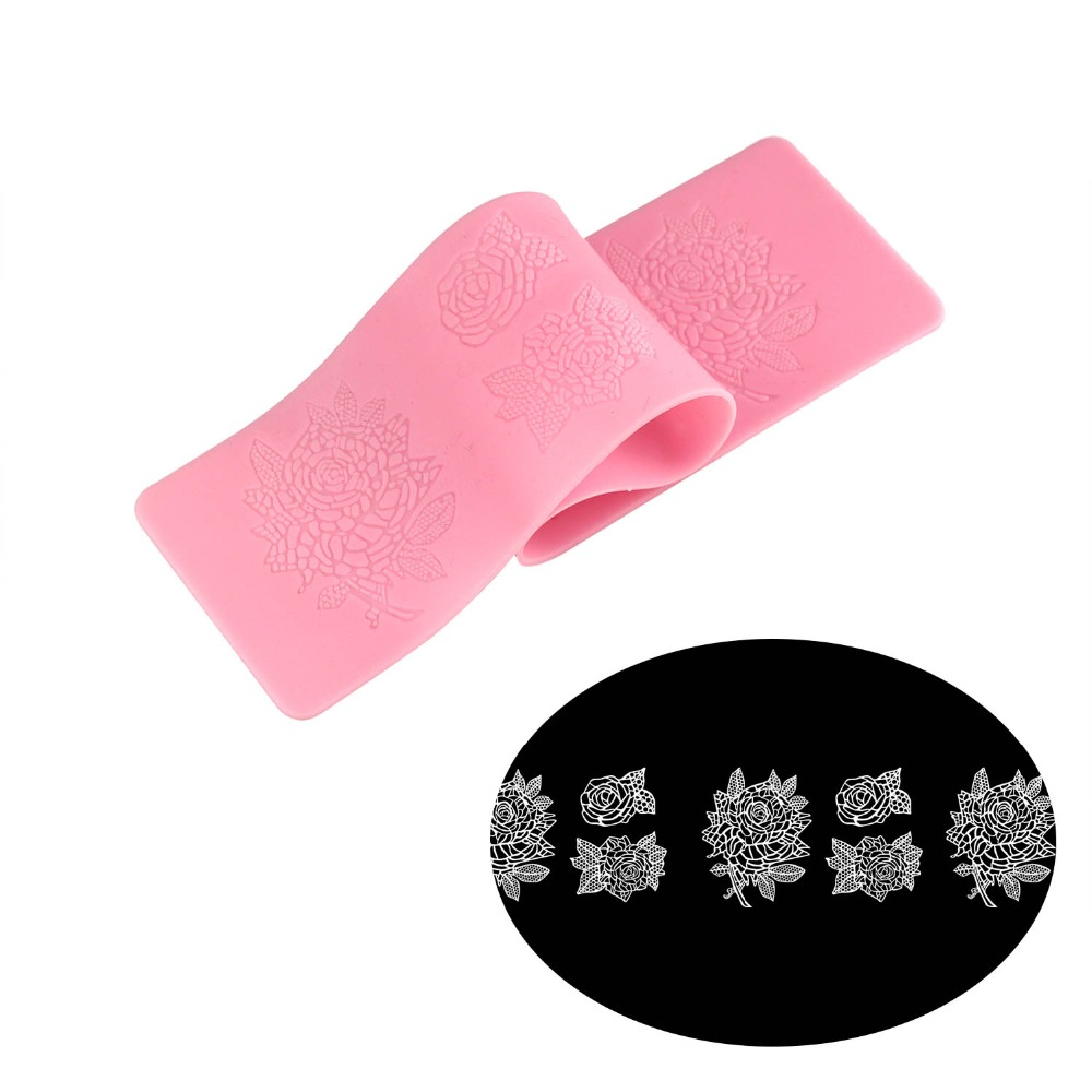 DIY Flower shape baking decor silicone lace mat,Sugarella Sweets Cake decorating tools easy to make Edible Sugar Lace for cakes