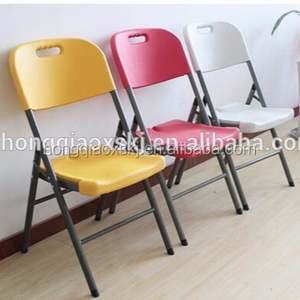 Easy clear modern cheap plastic folding hotell chair,folding furniture garden chairs,plastic restaurant set chairs