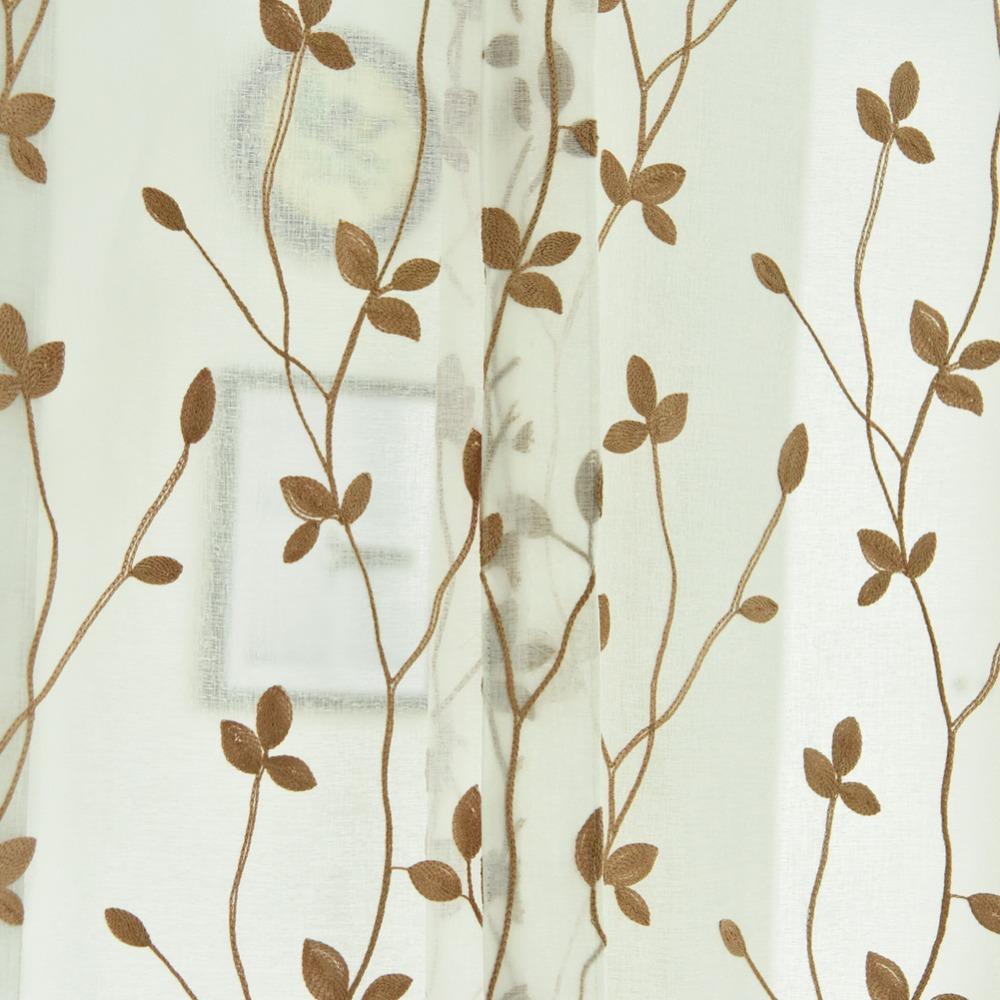 Napearl moda hoja de diseño cocina cortinas de cocina cortinas ...