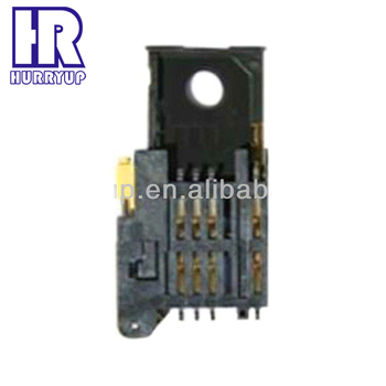 High Quality 6 pin nano sim card connector for camera