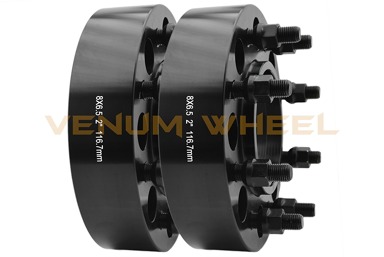 4333048820 2X SCITOO 8 Lug Wheel Spacers 8x6.5 1.5 inch 8x6.5 to 8x6.5 14x1.5 Fit for Chevy Silverado 1500 2500 HD 3500 HD Duramax GMC Yukon GMC Sierra 2500 3500 HD