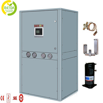 Water/ Ground/ Geothermal Source Heat Pump R410a For Hybrid Radiator ...