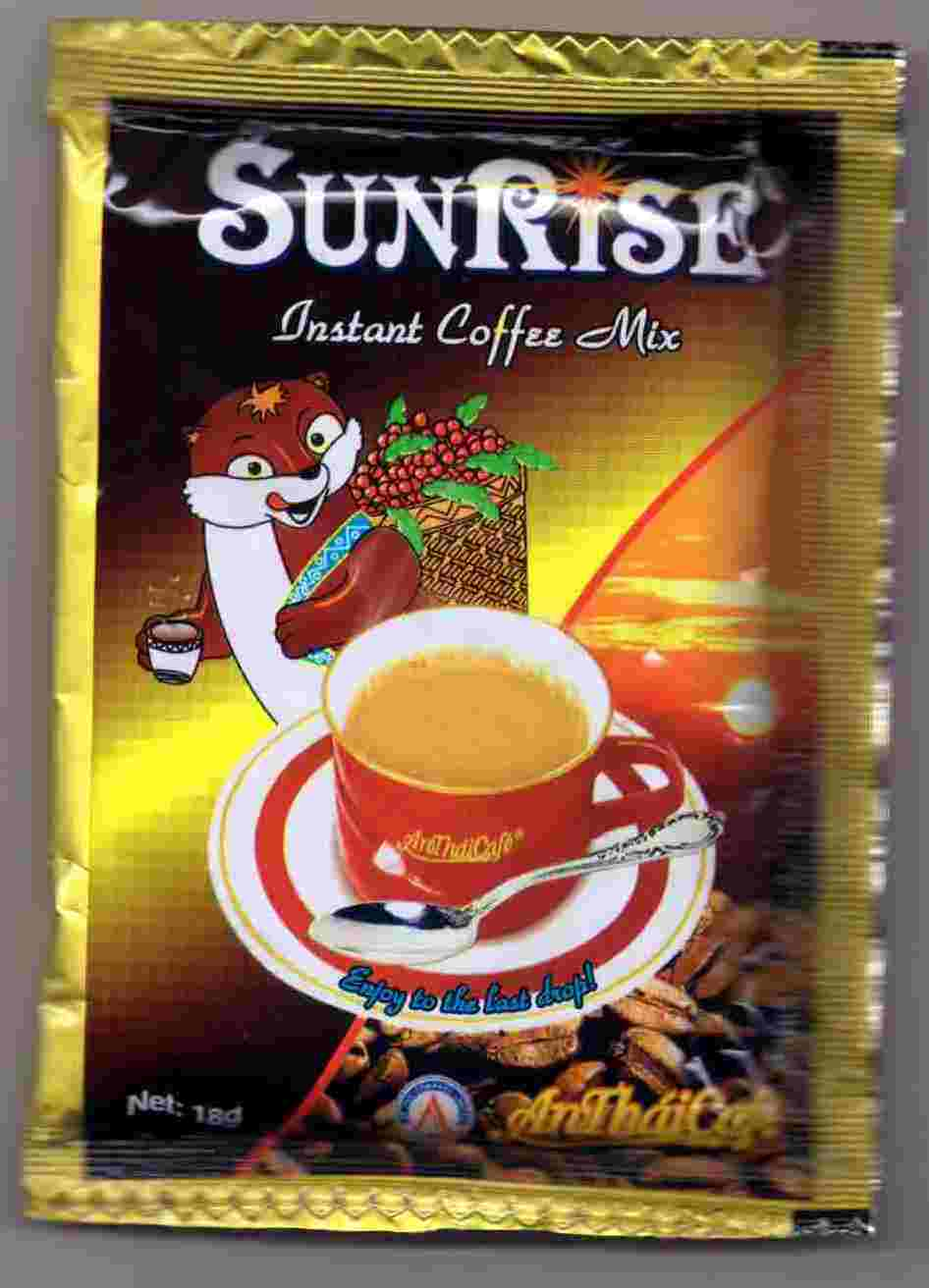 Sunrise 3 in 1 coffee mix