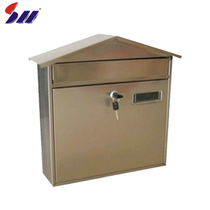 360*135*370 Waterproof outdoor wall mount metal mailboxe for apartments