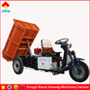 new type of chinese three wheel electric tipper trucks for sale
