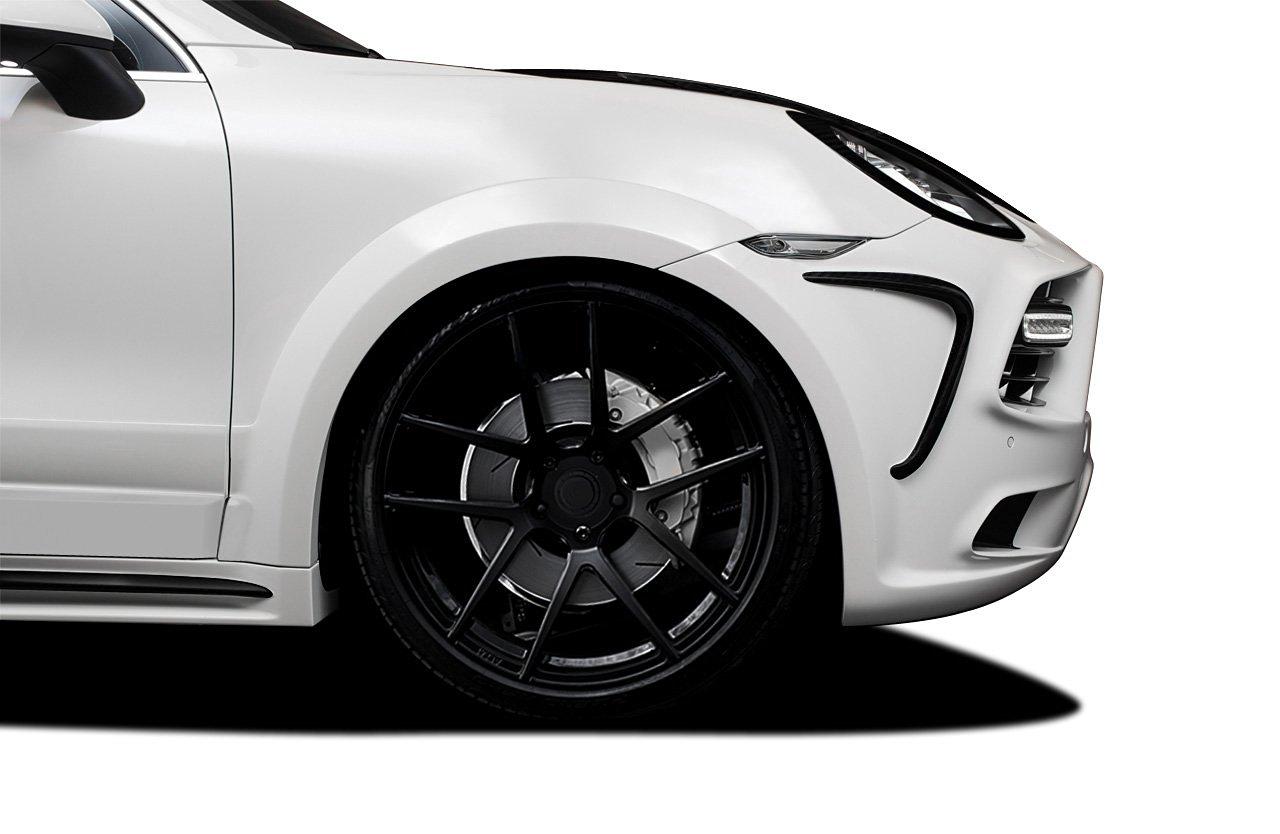 2011-2014 Porsche Cayenne AF-4 Wide Body Front Fender Flares ( GFK ) - 2 Piece