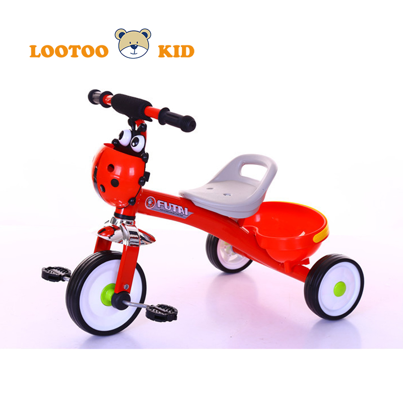 China hot selling tricycle kids 1-6 years old / cheap baby tricycle with back seat / outdoor little tikes trike red