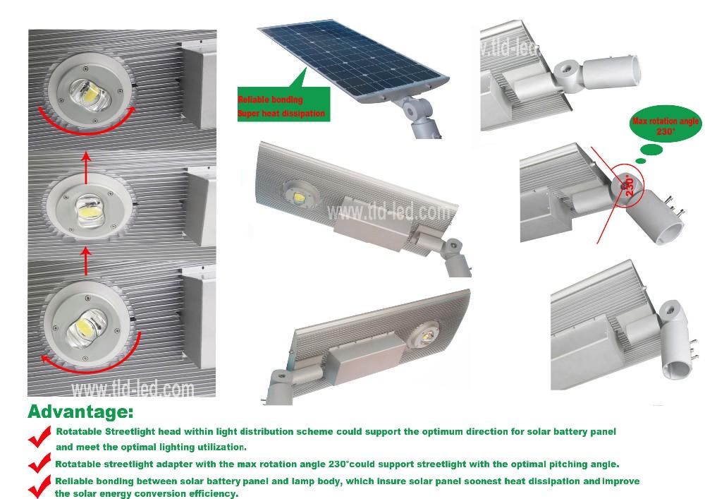 All In One Design 30w Solar Dusk To Dawn Lights