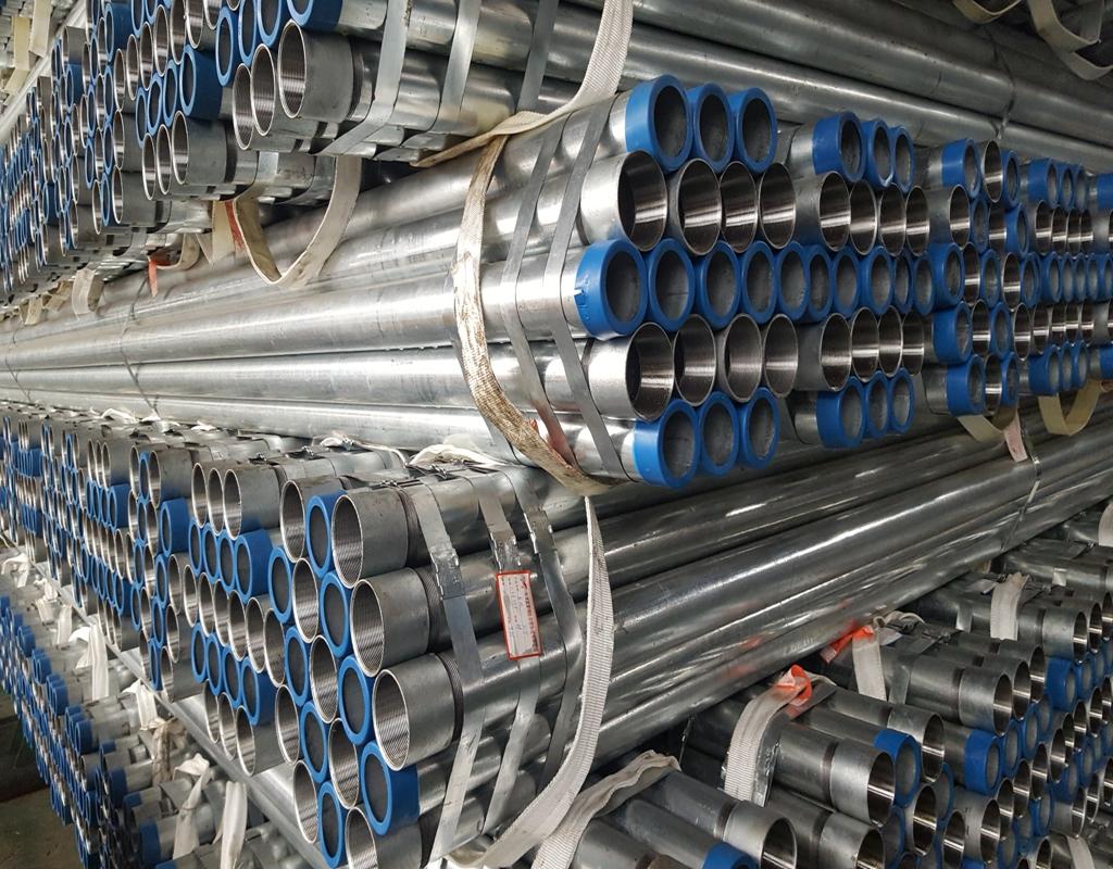 250mm diameter verzinkt pijp 10 inch gegalvaniseerd stalen buis
